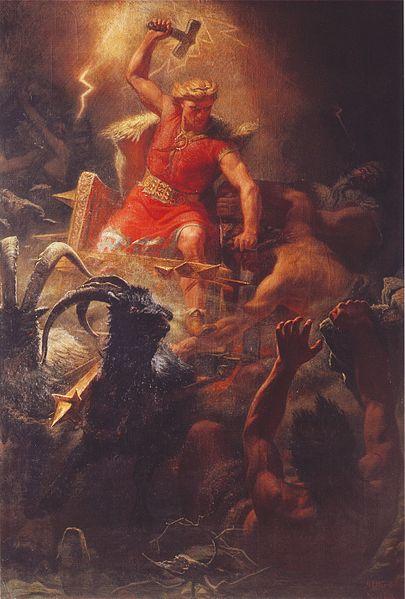 El semidiós Thor