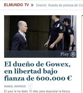 Jenaro García, dueño de Gowex